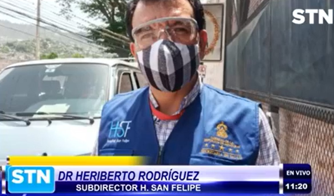 Hospital San Felipe reporta cero muertes por Coronavirus en las últimas horas