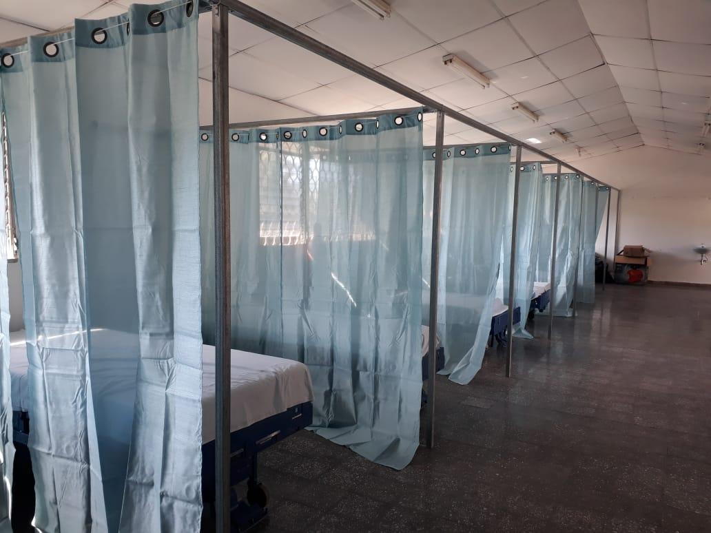 Habilitan nuevo centro de triaje  para pacientes covid-19 en Valle de Ángeles, FM