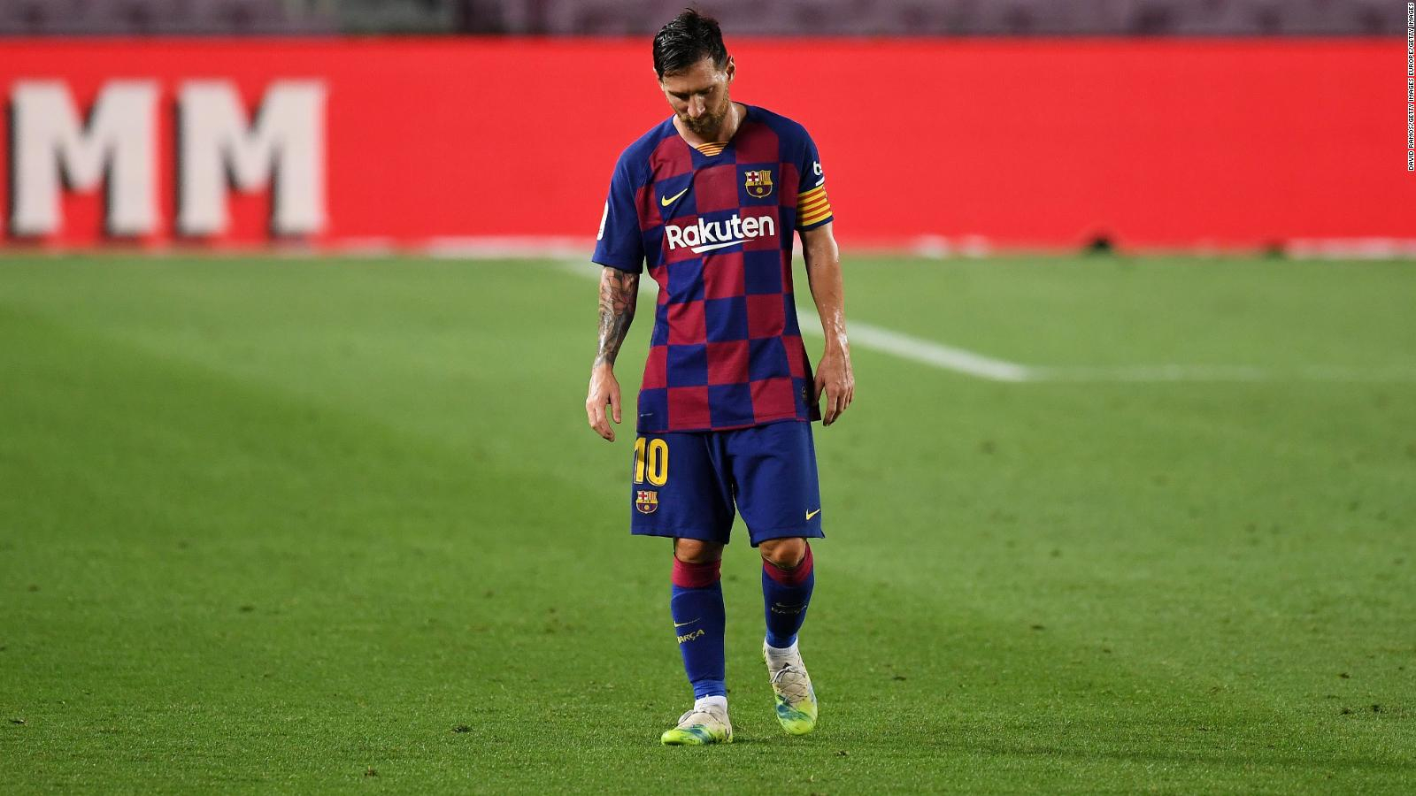 Messi, habla o te irás por la puerta de atras