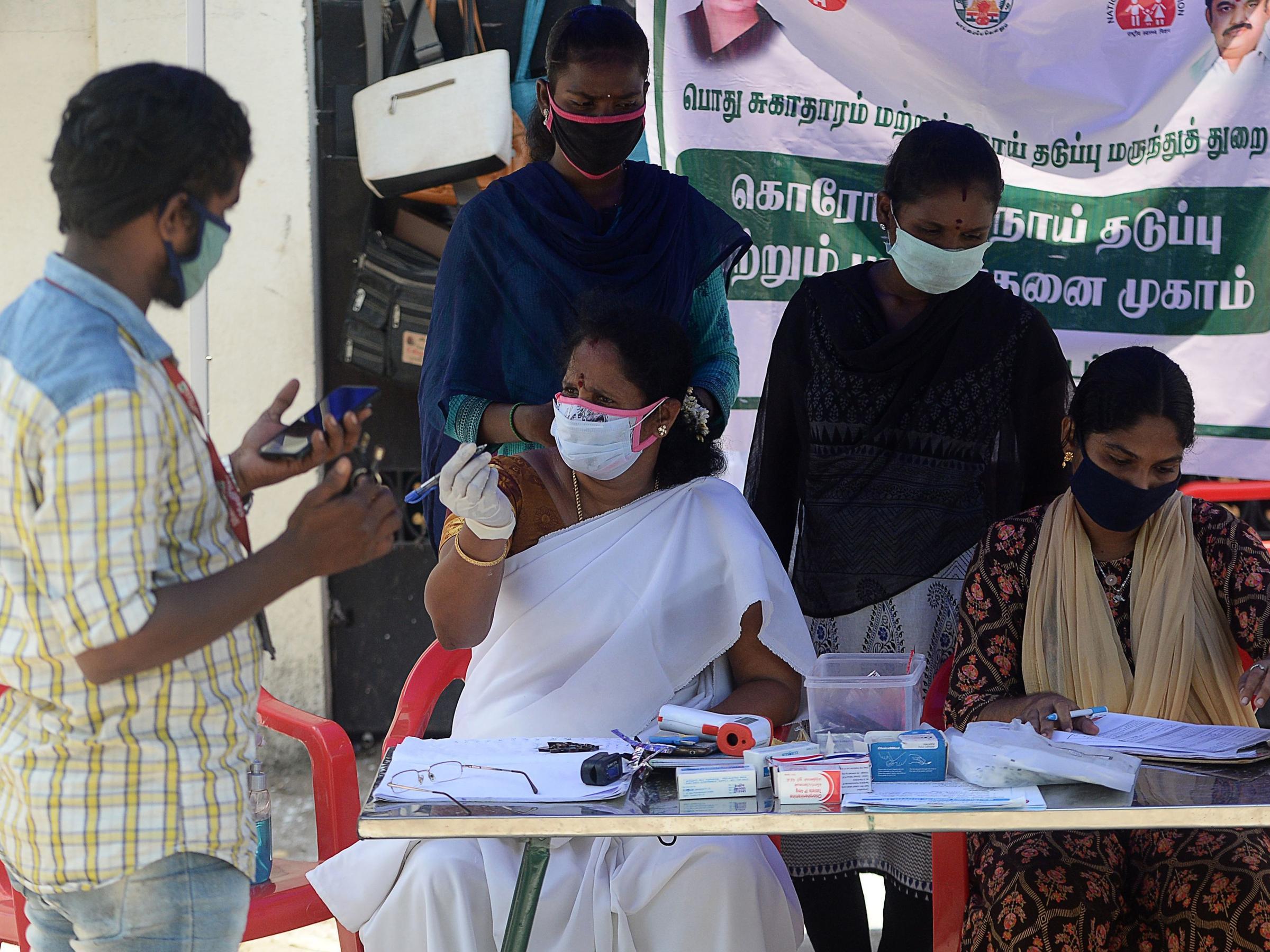 India reporta nuevo récord diario de casos de Coronavirus con 95.735