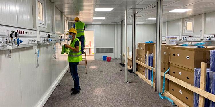 Invest-H informa que hospitales móviles de Choluteca y Copán están listos en Turquía