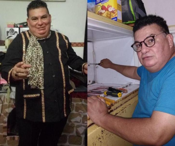 """""""Juan Gabriel hondureño"""" pasa de artista a reparador de artículos domésticos"""