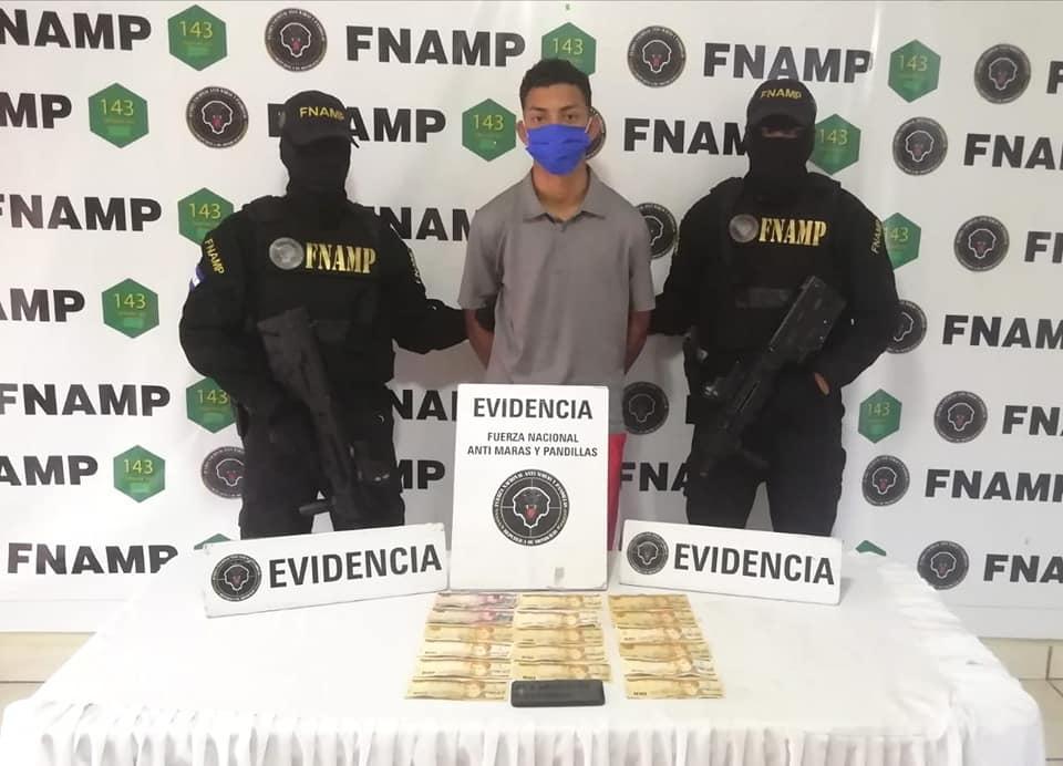 FNAMP captura a supuesto miembro de la pandilla 18 en la capital