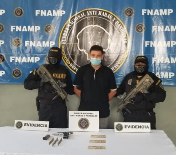 Capturan a supuesto extorsionador de la MS-13 en Choloma