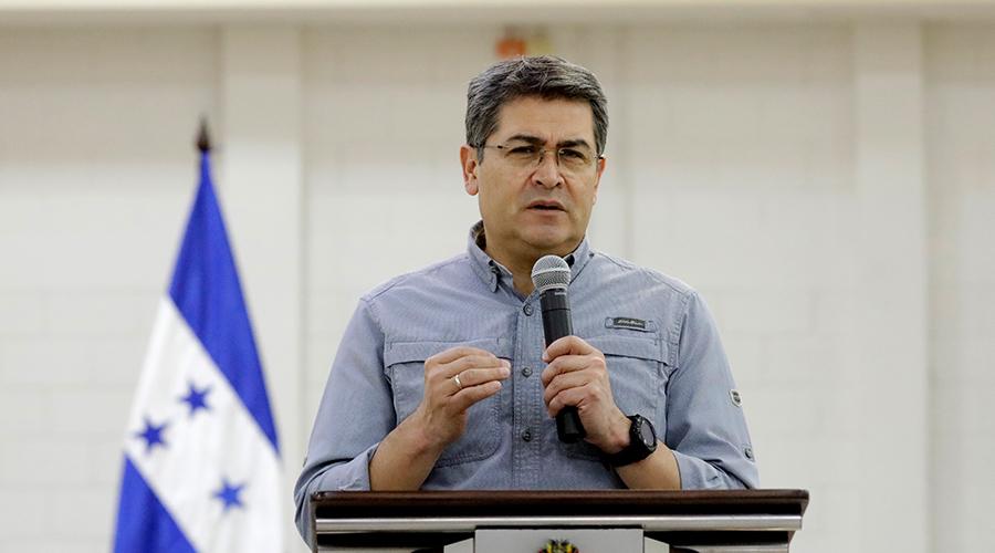 Presidente  Hernández reitera llamadopara aprobar Plan Financiero para el Rescate Solidario