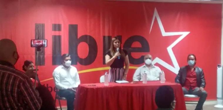 Lidieth Díaz oficializa su precandidatura a la alcaldía por Libertad y Refundación