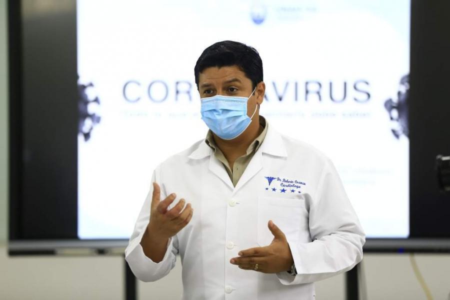 Viceministro de Salud:  Curva del COVID-19 registra dos descensos