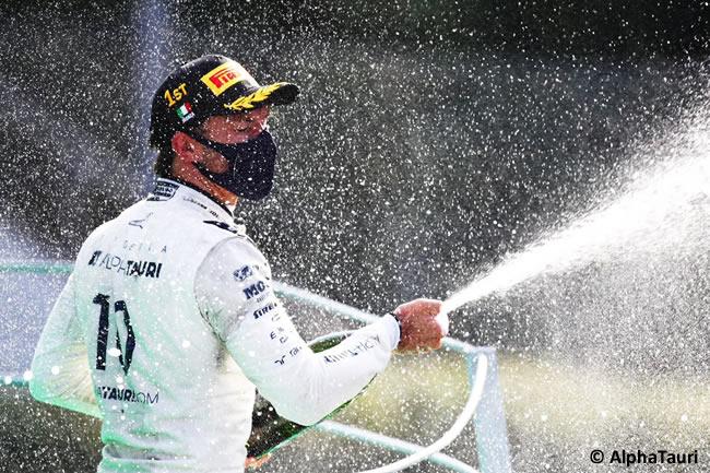 Pierre Gasly sorprende al mundo triunfando en Monza