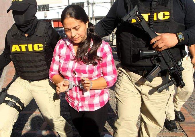 Condenan a Ocho años de cárcel mas una multa de L4 millones a Ilsa Aguirre  vinculada  en el millonario desfalco del  IHSS