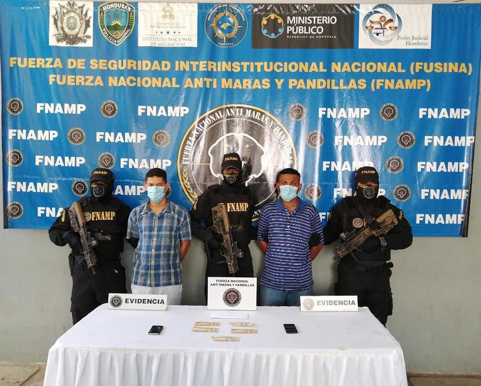 Capturan a supuestos extorsionadores de la MS13 en la zona norte del país