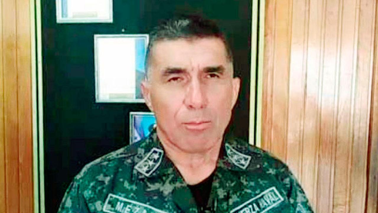 Muere Capitán de Navío, Domingo Meza, tras luchar por varios días contra el Covid-19