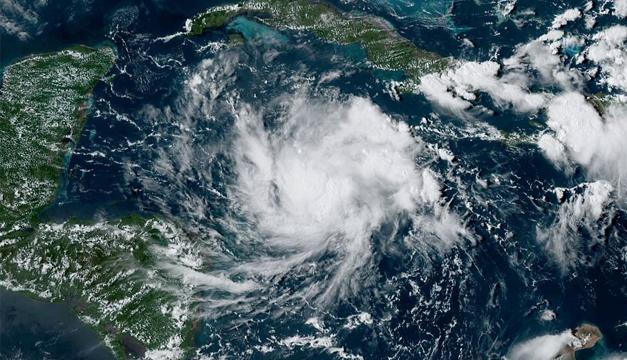 Tormenta formada en el Atlántico amenaza a Centroamérica
