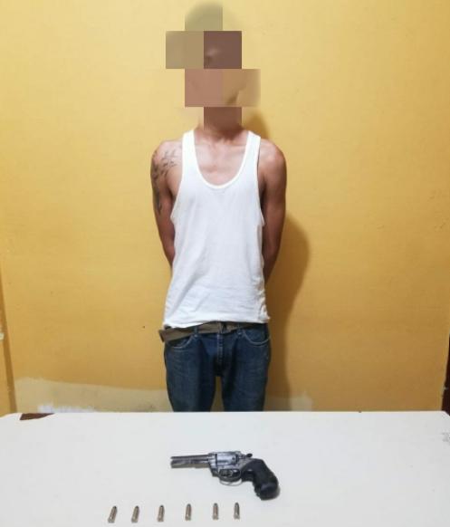 En posesión de arma de fuego, detienen a presunto miembro de la MS-13