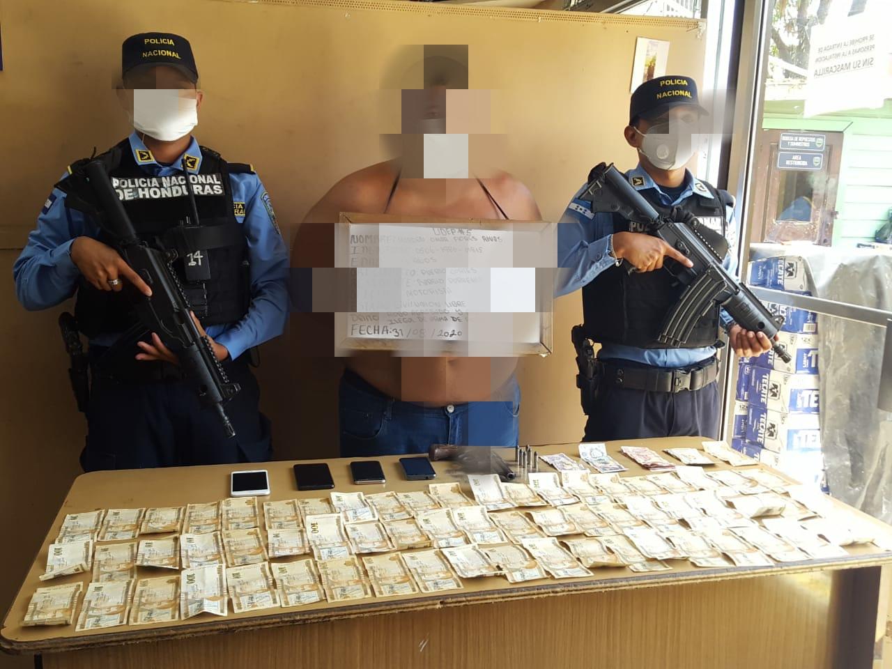 A la fiscalía envían a acusado de Robo agravado en Cortés