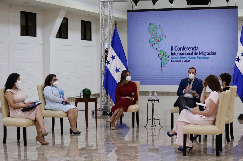 Contexto Migratorio en Honduras: Fuerza de Tarea inaugura  II Conferencia Internacional de Migración