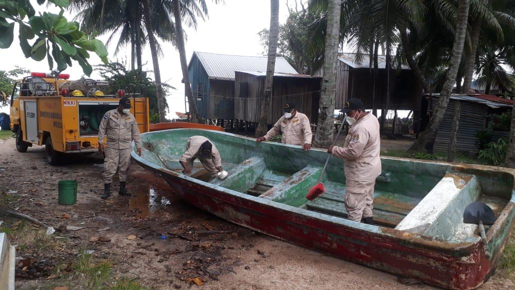 """Autoridades de Gracias a Dios se preparan para embates de """"Tormenta Tropical Nana"""""""