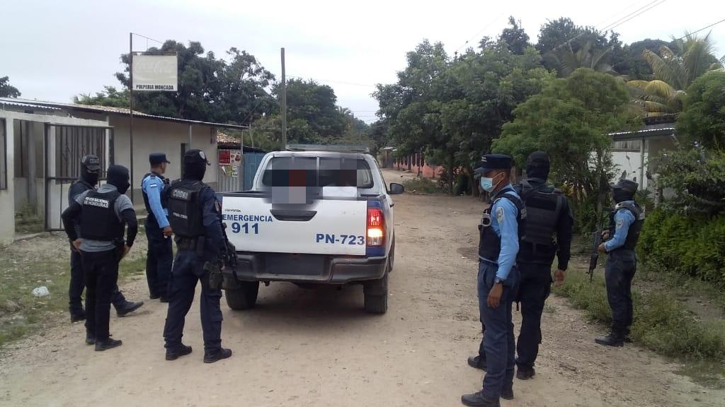 Con armas y droga son capturados dos sospechosos en Danlí, El Paraíso