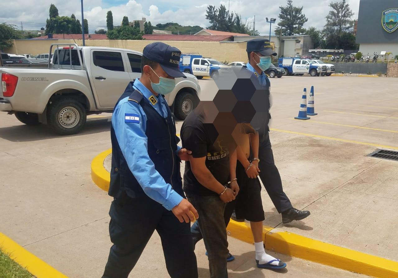 Aprehenden en Comayagüela a supuesto pandillero de 14 años con el rango de «sicario»