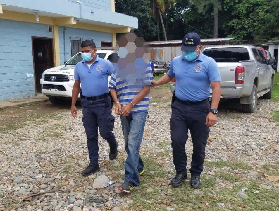 Capturan a hombre que estranguló, quemó y enterró a su hermano en El Progreso, Yoro
