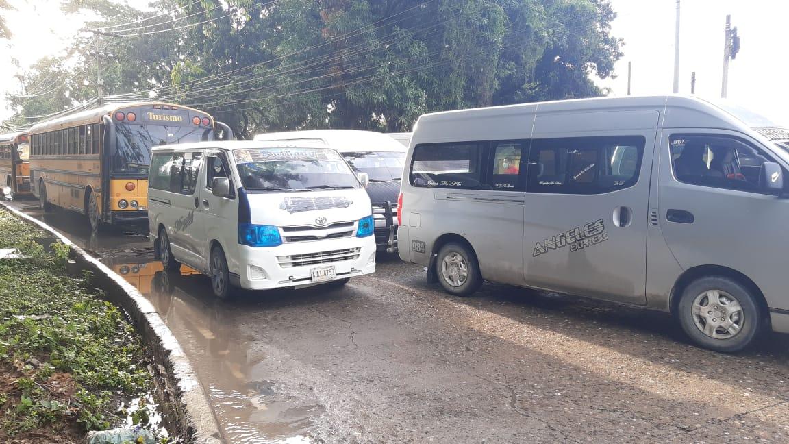 Transportista de la zona norte: «El IHTT está para apoyar al gremio y no para enfrentarlo»