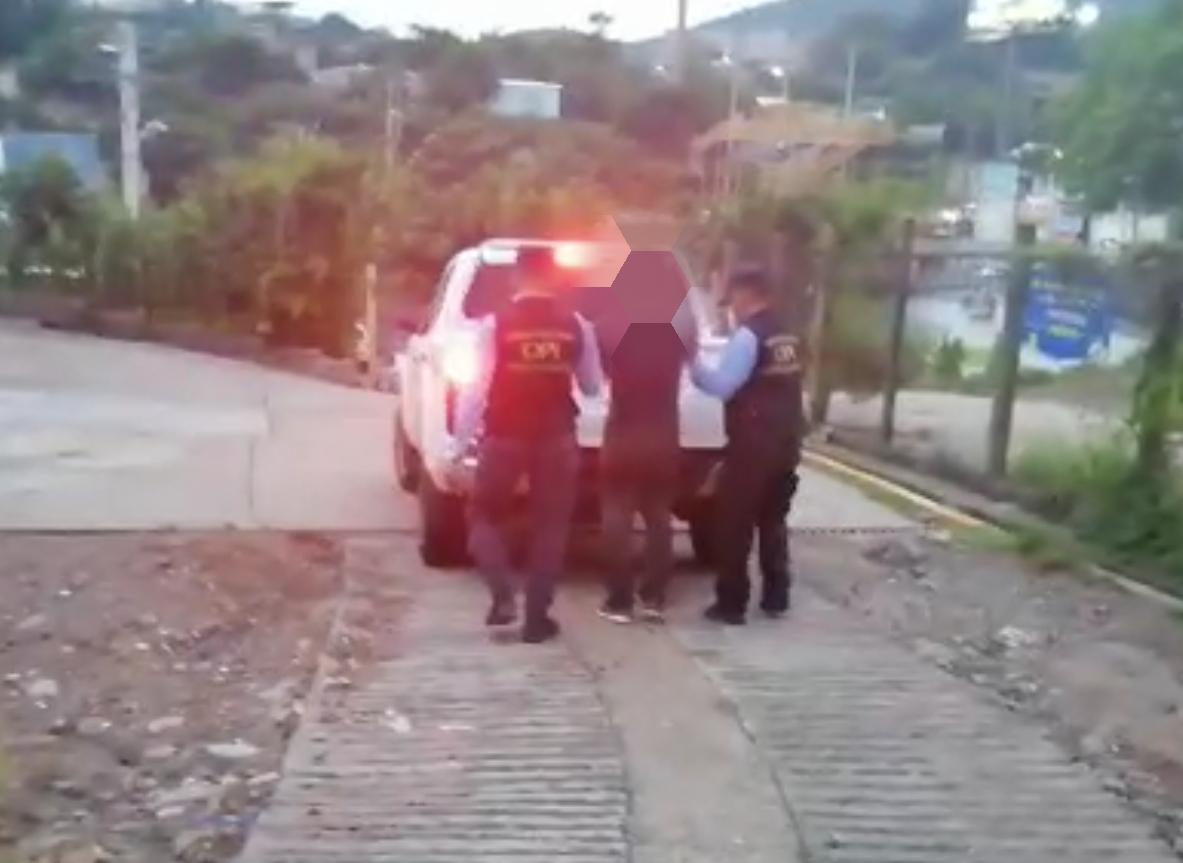 Capturan ciudadano por la supuesta violación especial de una menor de 13 años en la capital