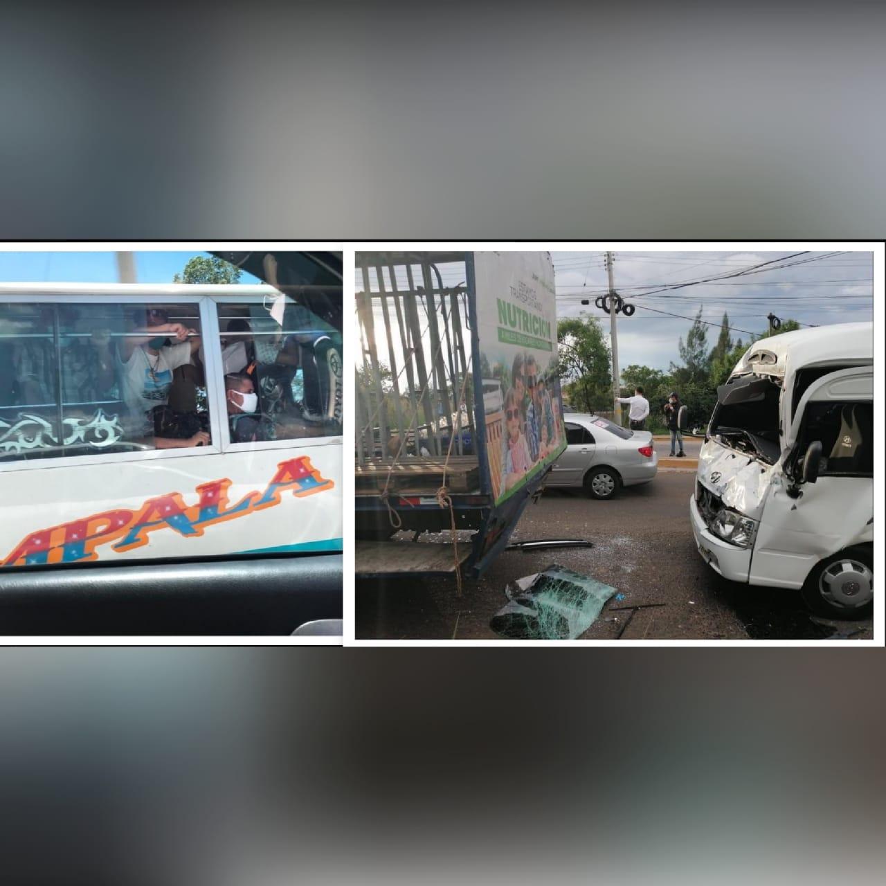 Decomisos, choques e imprudencia en primer día de reapertura del transporte público