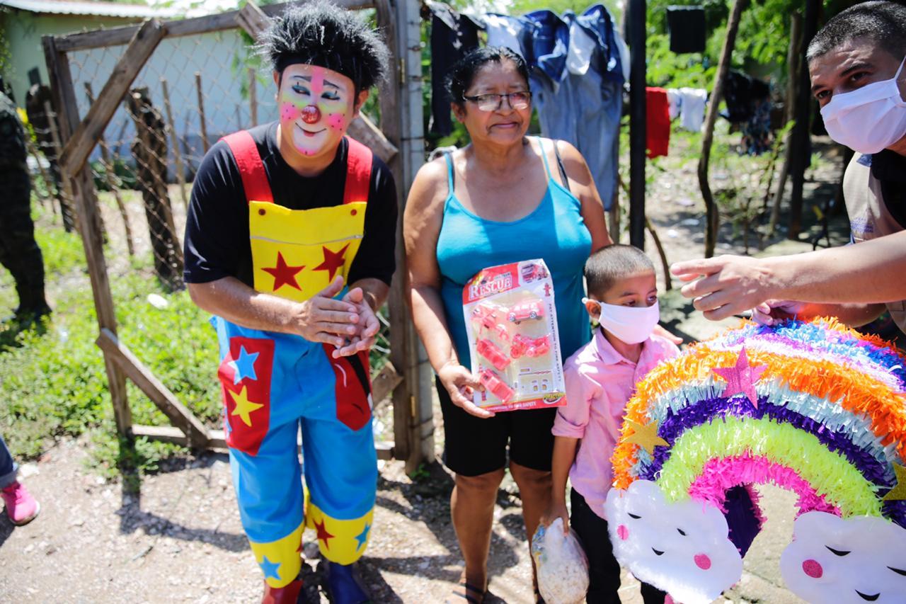 Gobierno cierra actividades del Día del Niño con celebraciones en La Ceiba, Catacamas y Choluteca