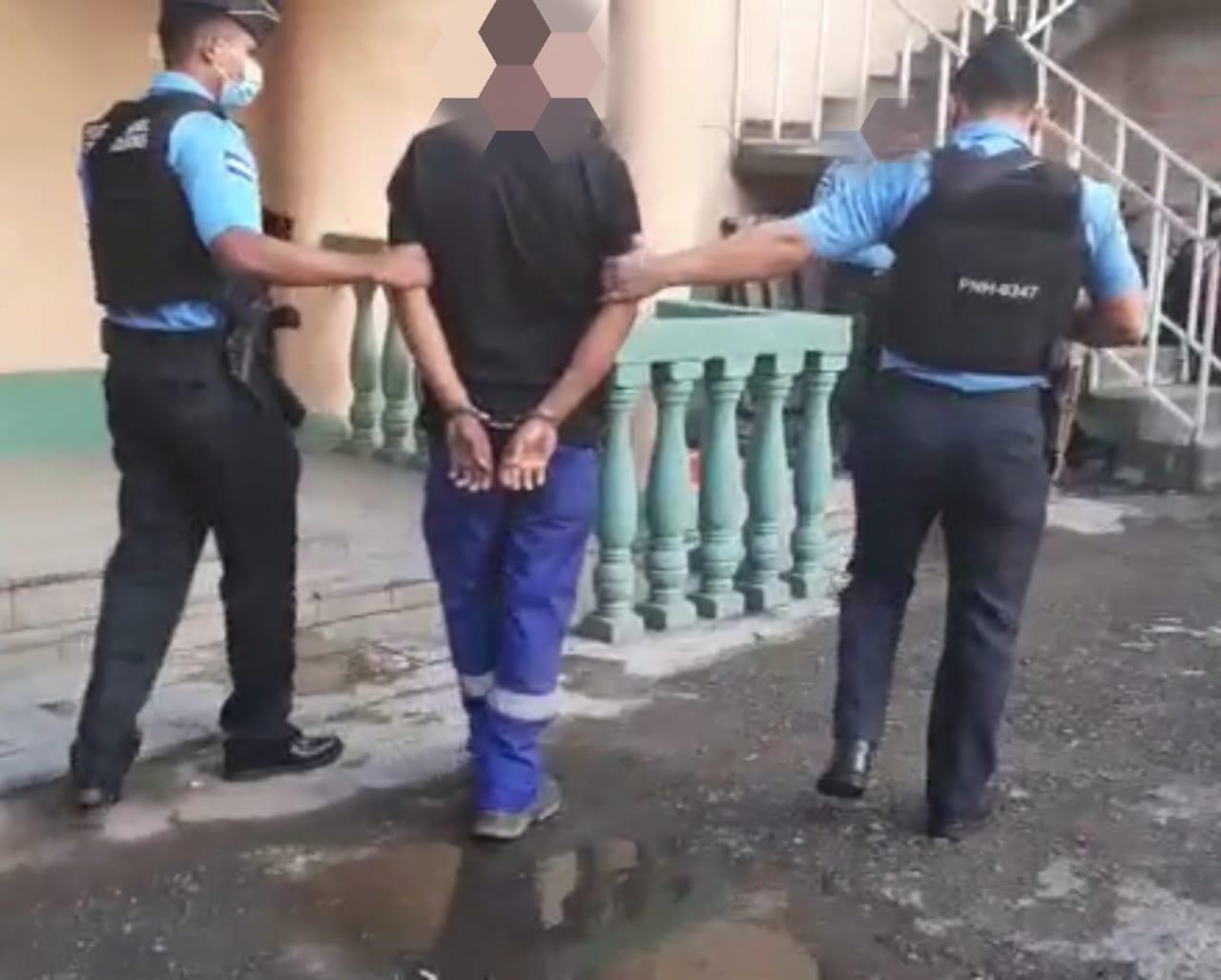 Comayagüela: Detienen a supuesto violador especial de su prima de 14 años