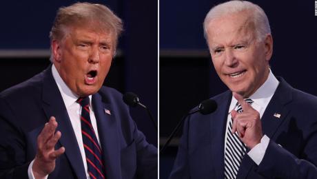 Gritos y ataques en primer debate entre Trump y Biden