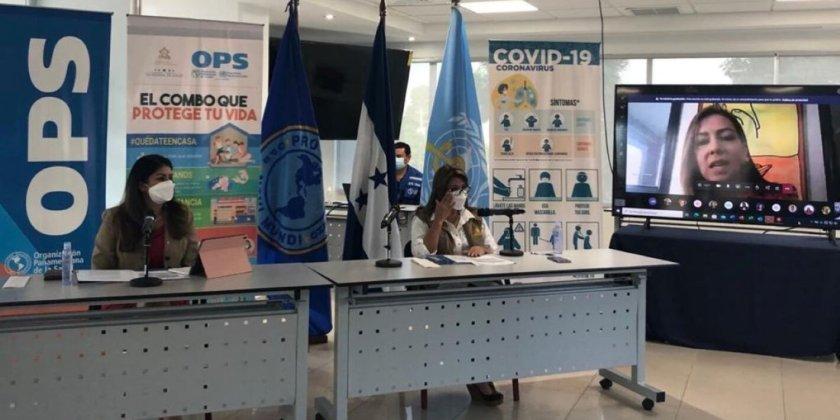 Secretaría de Salud firma acuerdo con la OPS/OMS para el fortalecimiento del abordaje de la COVID-19