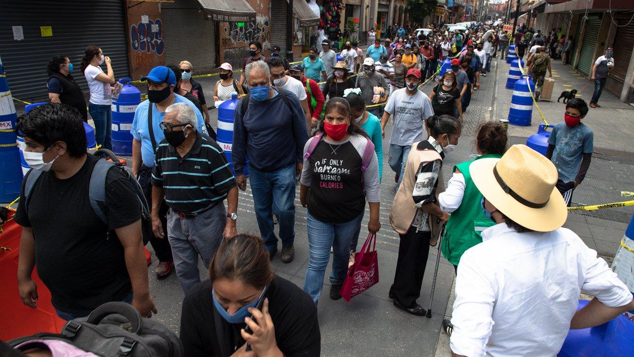 México reporta casi 5.000 nuevos casos de Covid-19
