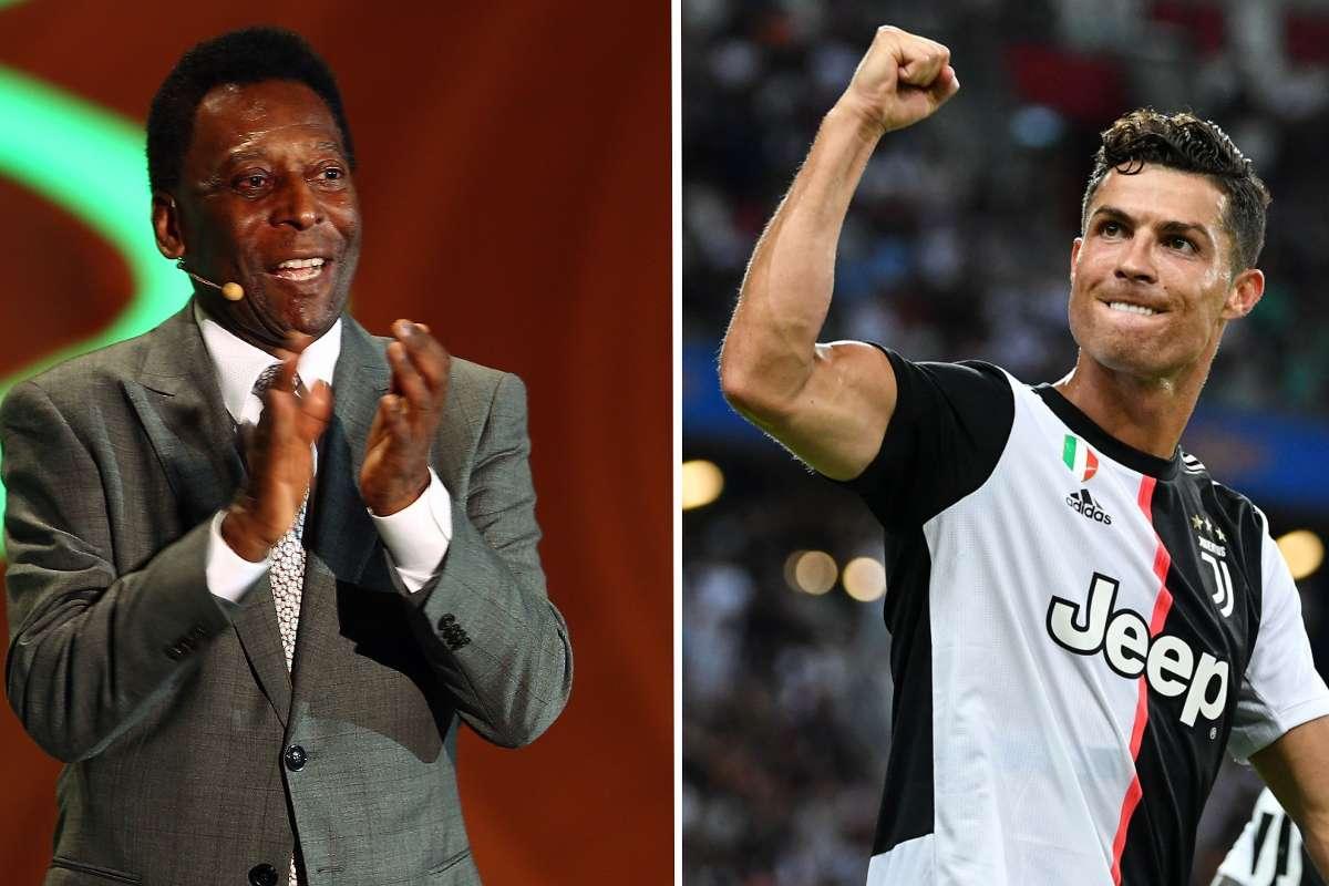 Pelé se rinde ante Cristiano luego de superar los 100 goles con Portugal