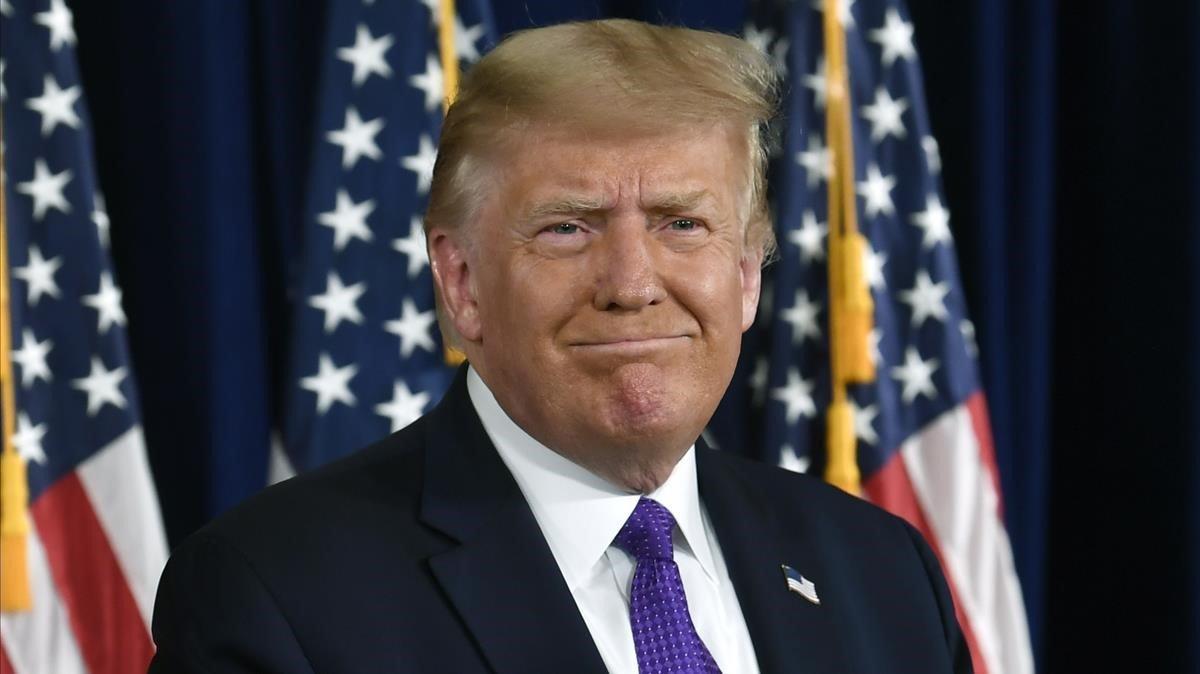 Trump acepta que su mandato terminó y promete una transición ordenada
