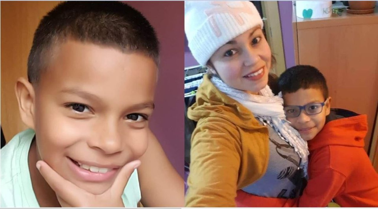 Karina Chinchilla «Mi corazón esta 100% seguro de que mi hijo Enoc está con vida y se que lo volveré a abrazar»
