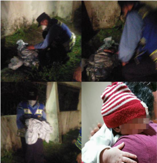 ¡Lamentable! Madre abandona a su bebé recién nacido en pleno «Día del Niño»