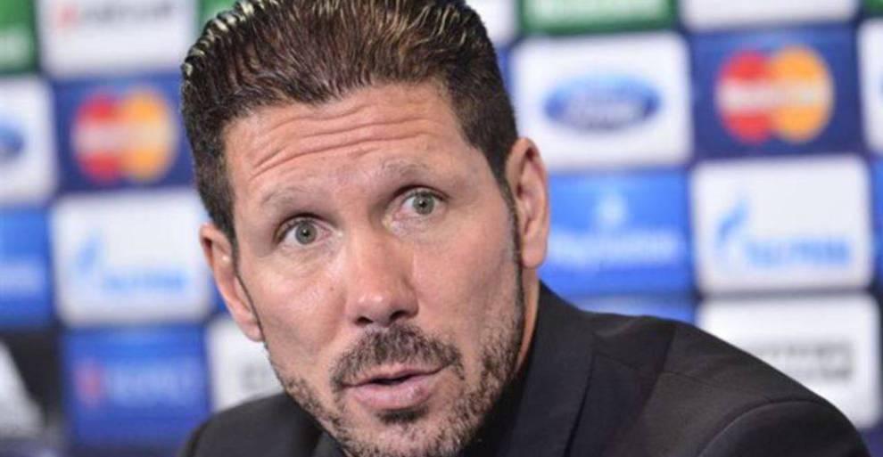 Técnico del Atlético de Madrid, Diego Simeone da positivo por Covid-19