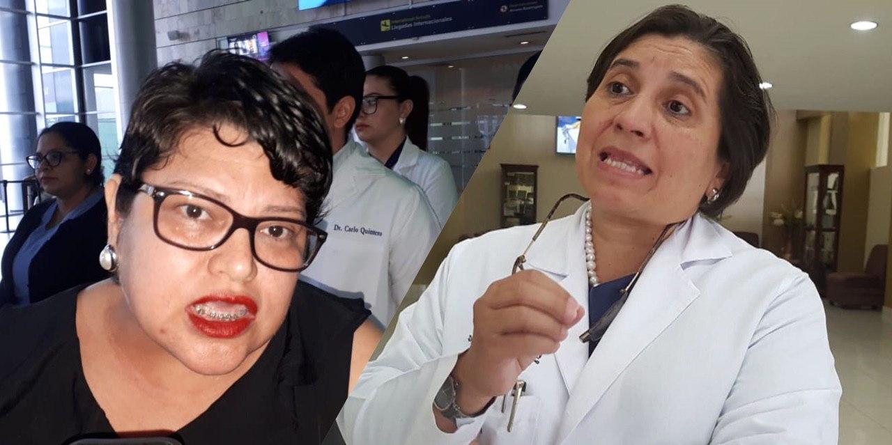 Presidenta de Coalición de Médicos: «Los fines de Suyapa Figueroa eran meramente políticos»