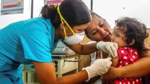 Secretaria de Salud proyecta vacunar 50,000 niños contra diversas enfermedades en San Pedro Sula