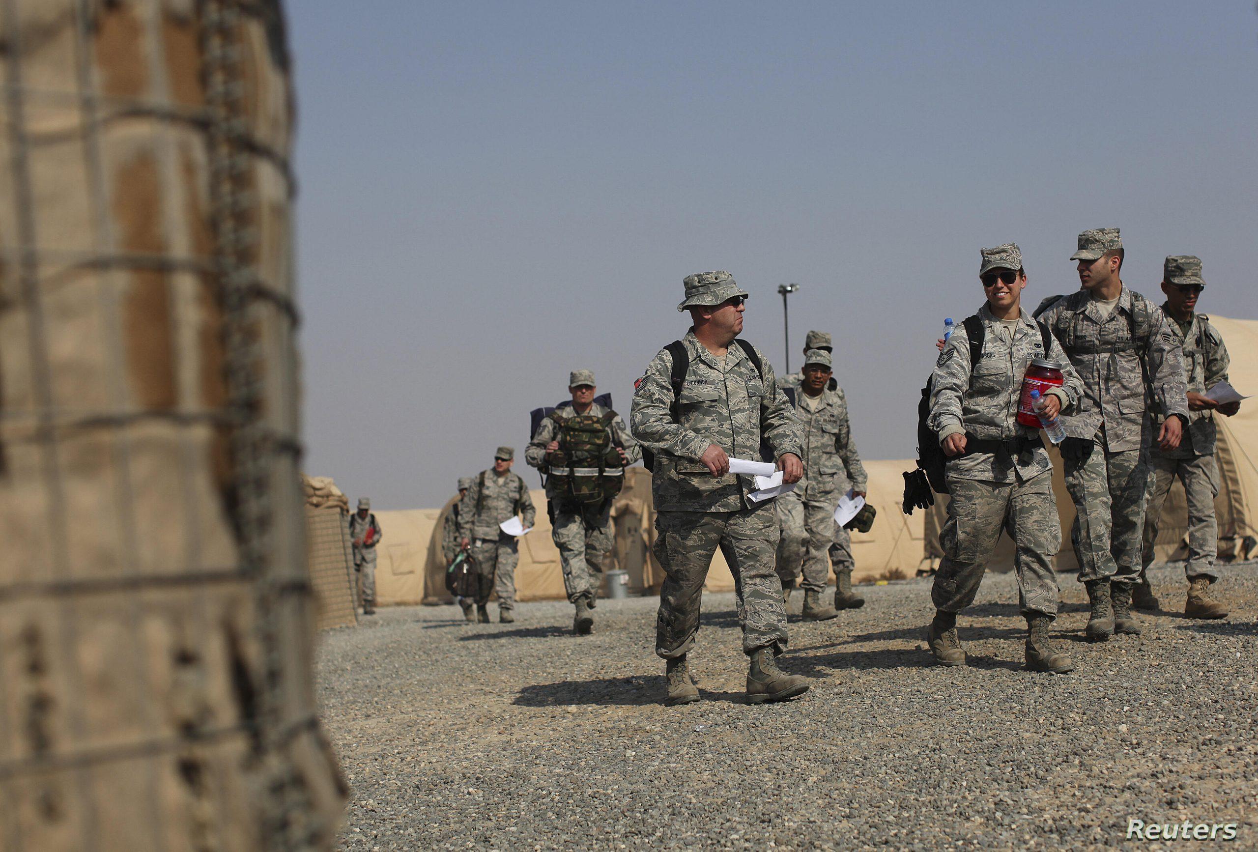 Estados Unidos anuncia reducción de tropas en Iraq