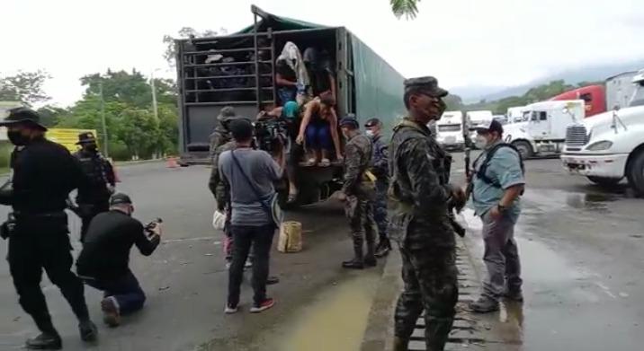 ¡Por que no aguantaban  el hambre! Unos 150 migrantes abandonan su sueño americano y retornan a Honduras
