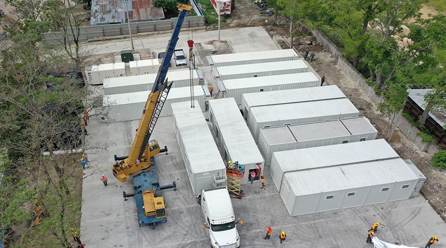 """Juan Bendeck: """"El hospital móvil de San Pedro Sula no es una chatarra, es un hospital ultramoderno"""""""