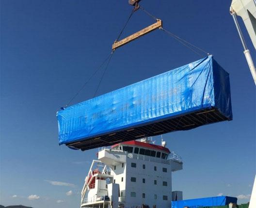Unos diez días durará la inspección de hospitales móviles procedentes de Turquía