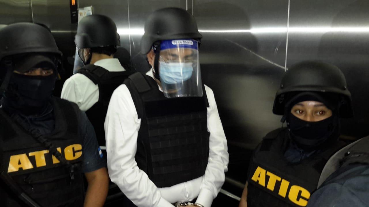 Marco Bográn asegura que es inocente y ante el Ministerio Publicó lo ha demostrado