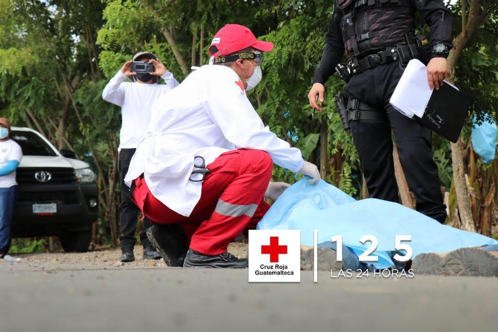 Investigan si el migrante que murió en la nueva caravana es hondureño