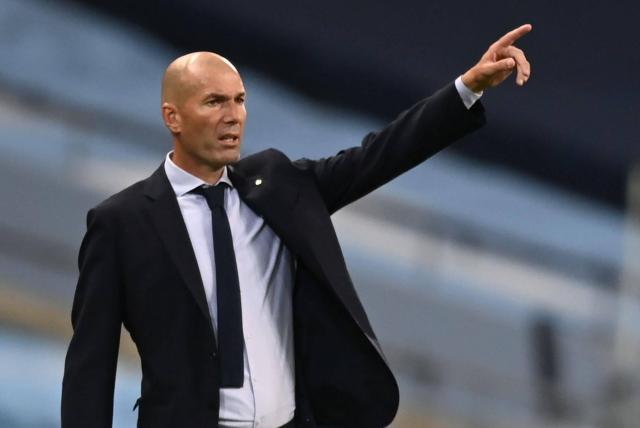 ¡Zinedine Zidane en la cuerda floja!