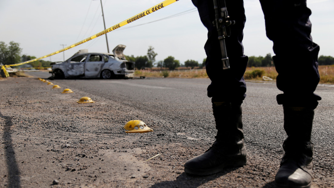 Detienen a 'El Azul', líder del Cártel de Santa Rosa de Lima en México