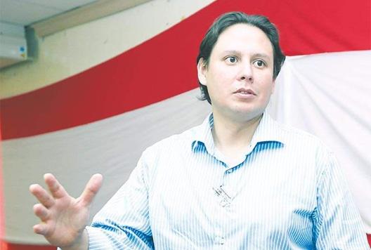 Eduardo Martell anunció su candidatura a la alcaldía por el Distrito Central