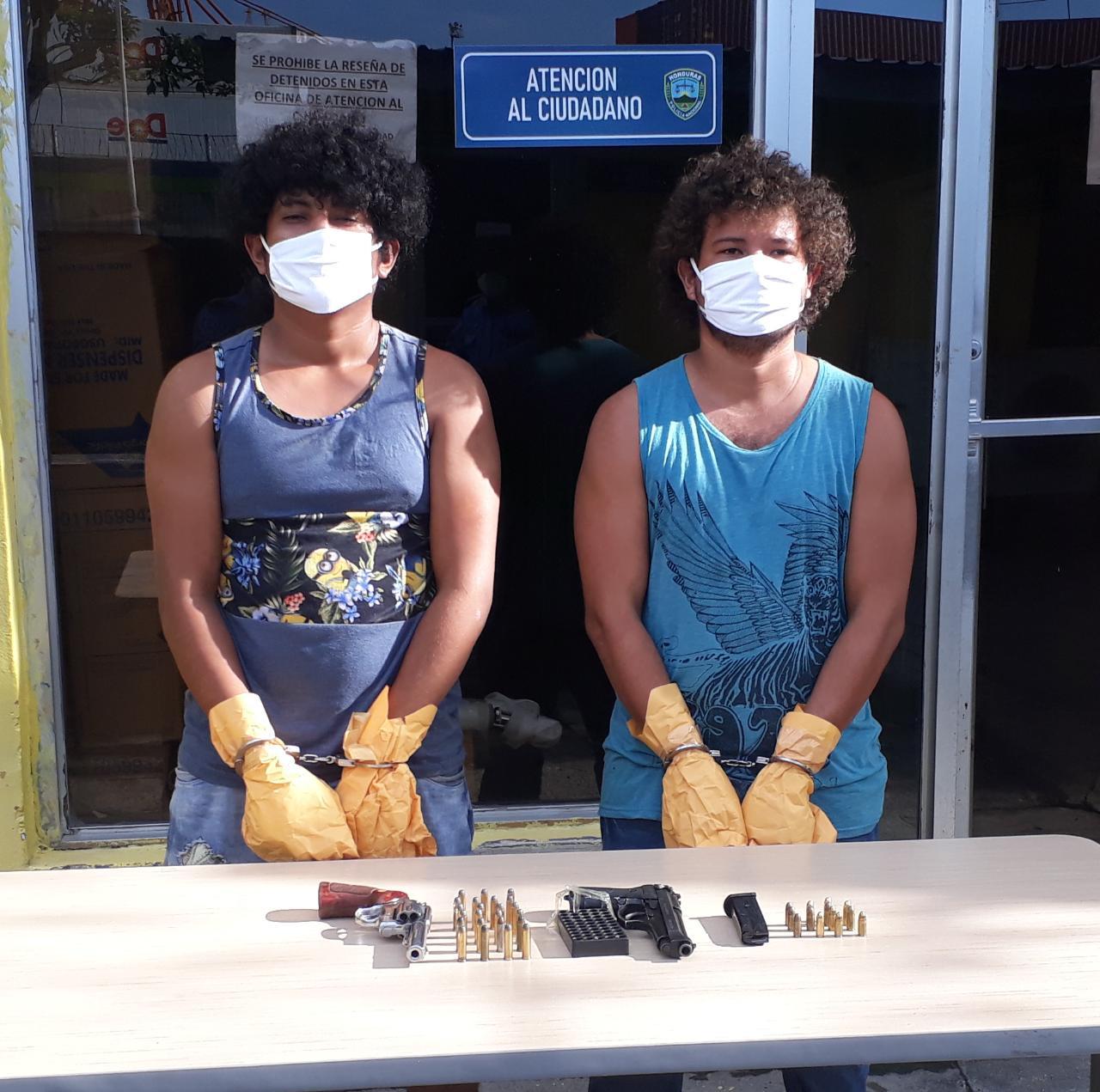 Capturan a dos supuestos femicidas en el sector de Corinto, Omoa,