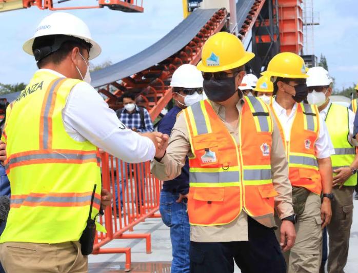 Mandatario Hernández: «Estoy contento de ver a Puerto Cortés en un puerto referente»