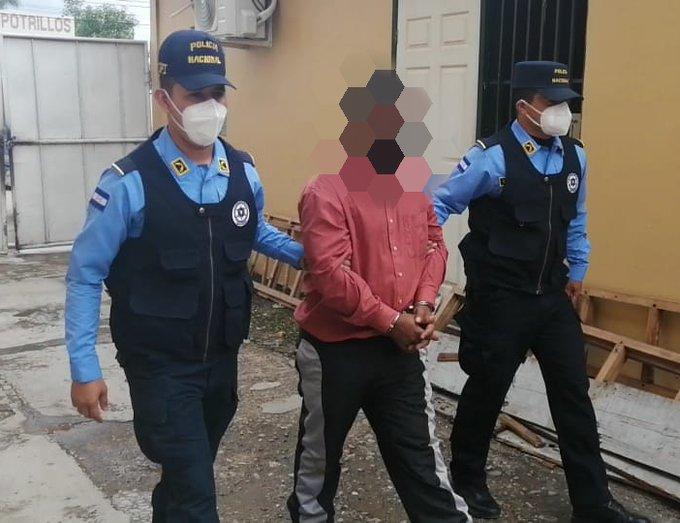 Sujeto es capturado por maltratar a su compañera de hogar e incendiarle la vivienda en  Talanga, Francisco Morazán